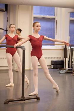 perfectballetbody:  catherine hurlin- JKO school  turnout much?