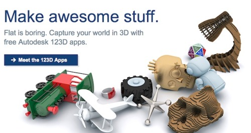 How To Start 3D Printing With Shapeways from Autodesk's 123D Apps You can now 3D Print your designs with Shapeways from models created in Autodesk's 123D range of free 3D applications including 123D, 123D Catch and 123D Sculpt. Autodesk have been making 3D modeling accessible with a range of fantastic free tools to help you make your ideas for real.. Once you have created your 3D file in 123D, 123D Catch or 123D Sculpt you will need to create an account or log in to save it to 'My Corner' of Autodesk's www.123dapp.com. Once your designs are stored in the Autodesk cloud you can head on over to the fabricate page:  Start a 3D Printing project Choose your design from 'My Corner' Specify unit of measurements and scale Choose a 3D Printing service (hint: Shapeways) Log in with your Shapeways account (or register for a new one) Your 123D App produce model will now upload to Shapeways so you can 3D print in any of our materials.  A massive thanks to the team at Autodesk for creating so many awesome apps for the PC and iPad that make it fun to get started making 3D objects ready for 3D Printing…  We will do an overview and analysis of each of the apps in the near future to help you choose which app works best for your designs… If anyone in the community are interested in doing a review of 123D Apps please let us know. In the meantime check out the 123D blog to keep up to date with 123D happenings along with Shaan Hurley's Between the Lines for some super inspirational Autodek technology news…