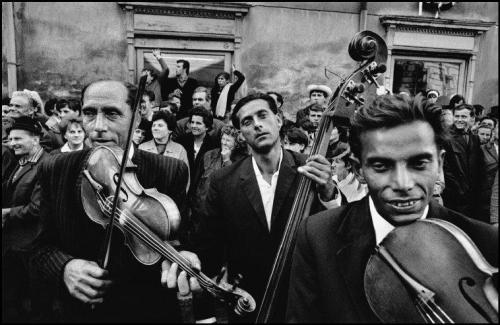 "© Josef Koudelka, 1966, ""Gypsies"", Moravia (Czech Republic) Josef Koudelka talks about his master work ""Gypsies"" with Vogue Italy - watch the video here. » find more of Magnum Photos here «   