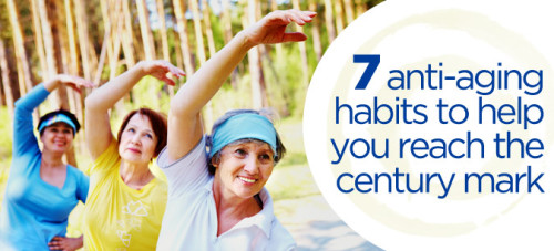 Want to live a healthy life and reach 100 years of age or beyond? If so, you may want to follow some of these anti-aging tips.