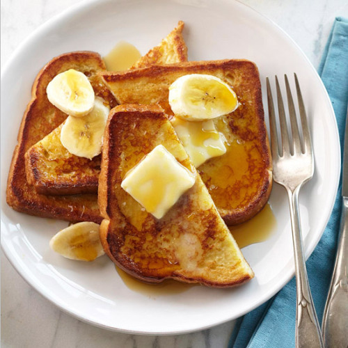 Daily Dish: Classic Vanilla French Toast? Yum!