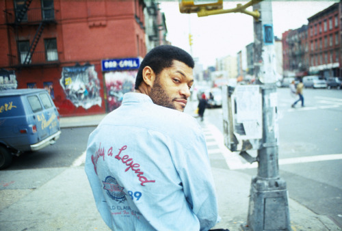 Laurence Fishburne. photo by Ricky Powell