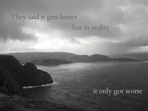 it's okay mountains and ocean, I can relate.