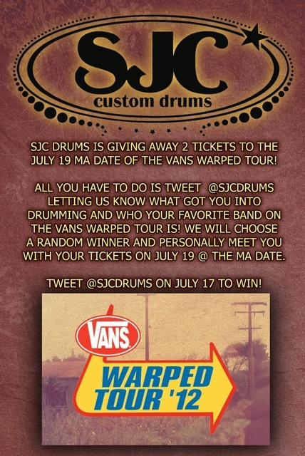 Want to win two tickets to the Mansfield, MA Warped Tour date? It's simple! Follow the instructions and YOU could win two tickets! The contest runs for TOMORROW ONLY. Good luck everyone!