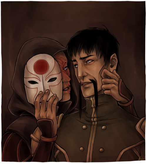 kromitar:  theslowestdrawfag asked me to draw some Amon and his Lieutenant. Here you go, bby, I hope you like it. ♥