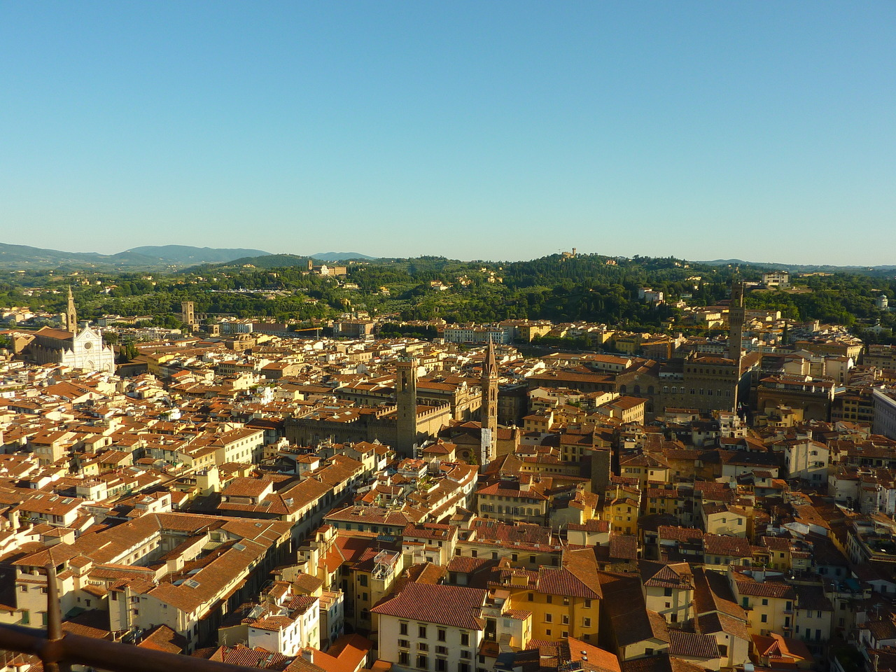 Panorama from El Duomo - Firenze, Italia by D. Caro