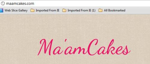 Ma'amCakes is officially a DOT COM! Get ready for a total re-vamp. Monetization, here we go!