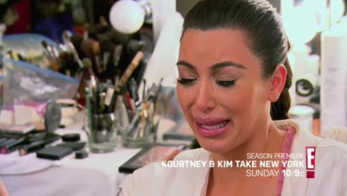 We all know Kim Kardashian cries, but she isn't the only one. Guys cry too.