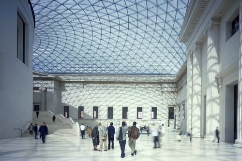 Great Court of the British Museum by Foster & Partners