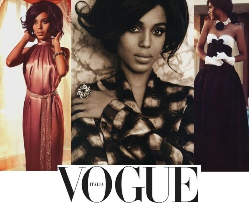 Keri Washington for Vogue Italia