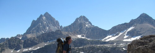 fuckyeahhiking:  Hiking the Teton Crest Trail. Submitted by Pat.