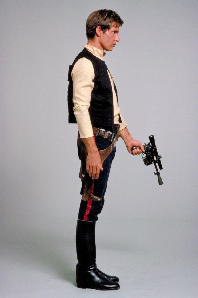 I want to do a cosplay of Han Solo.