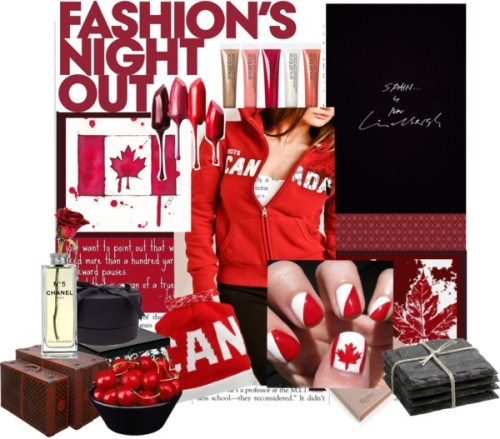 flag rock: Canada by lauraaa4kiss featuring a zip hoodieRoots zip hoodie / Adapt beanie hat / Canada Flag Souvenir Coffee Cup Canada Mug / Oh Canada Maple Leaf Flag Illustration / Louis Vuitton luggage / Smashbox beauty product / Set of 4 Slate Coasters / DL & Co Pear and Apple candle gift set, $185 / Christian louboutin accessories WHITE, $130