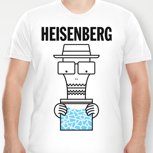 Heisenberg Goes to College: Shirts and prints available on Society6