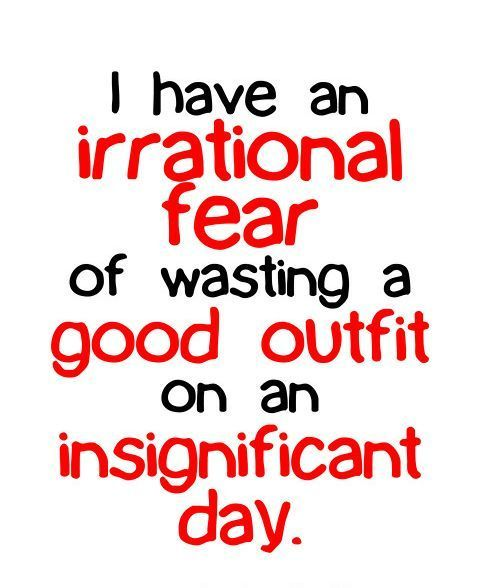 sirelys:  Irrational fear.