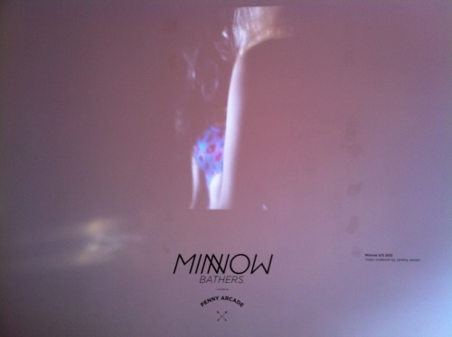 minnow bathers s/s 2012 video launch(video: jeremy jansen)july 2012