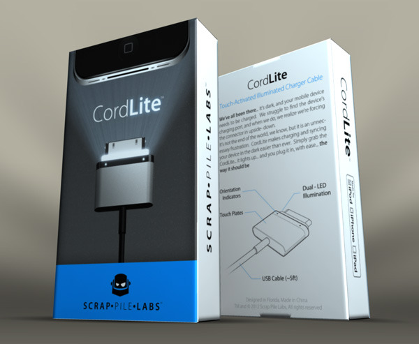 CordLite's Packaging Design. Let us know what you think!