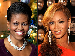"""I'm so in awe of Michelle Obama. Every time I see her, she inspires me, she empowers me, she encourages me to live a healthy lifestyle.""  - Beyoncé, reaffirming her appreciation for first lady Michelle Obama, in an online video"