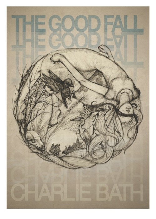 We're releasing a limited edition A3 print with Charlie's new EP - 'The Good Fall'. Edition of 50 are on offer with  the pre-sale of the CD and at her Launch Party this weekend :)