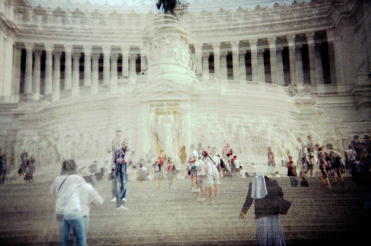 Spanish Steps.  Rome.  Holga 35mm