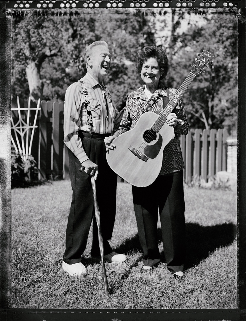 Johnny Wright and Kitty Wells - musicians - Nashville, TN © Jim Herrington Very sorry to hear that Kitty Wells died today. What a great woman and her husband Johnny Wright wasn't a slouch either. Here's my photo of them in late 2001 (he died last year).