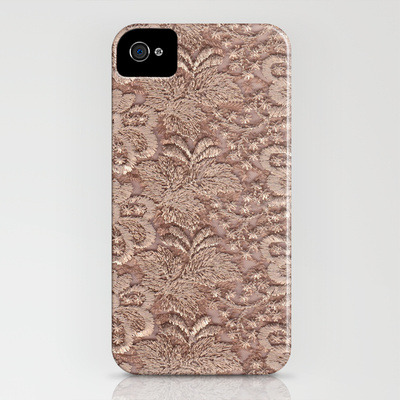 (via Starlight Lace iPhone Case by Jenny Vorwaller | Society6)