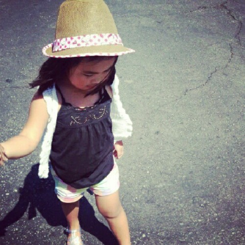 my little fashionista!  (Taken with Instagram)