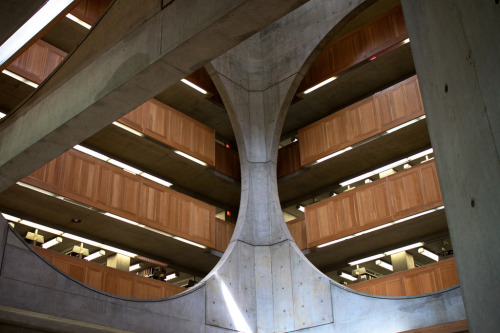 Phillips Exeter Library by Louis Kahn