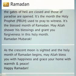 #RAMADAN  (Taken with Instagram)