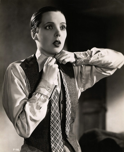 "valentinovamp:  Jessie Matthews in ""First a Girl"" (1935)."