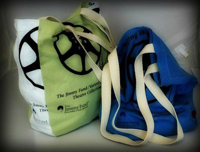 The bags we made for the Jimmy Fund!