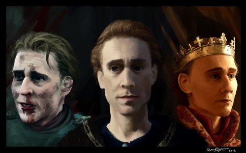 Tom Hiddleston as King Henry V