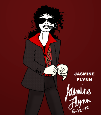 This Is It Michael Jackson. a digital drawing by me, Jasmine Flynn :)