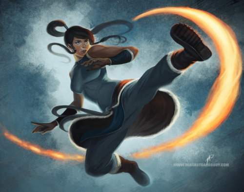Awesome Korra picture, can't friggin wait till season two ugkh
