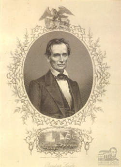 "Presidente Lincoln ""Presidente Lincoln,"" the only known contemporary artistic tribute to Abraham Lincoln made in Spain, will go on long-term display starting Tuesday, July 17 in the Lincoln Tomb Gallery at the Presidential Museum.  Paid Museum admission is required to see the artifact.  A number of other items that had not previously been exhibited in the Museum will also be on display with it. The 1865 print from Barcelona used two engravings to tell its story - one based on an 1860 photo of a beardless Lincoln, the other on an 1865 scene of the 16th President's funeral along Pennsylvania Avenue in Washington, D.C.  The printer was the distinguished old firm of Roca y Hermano, with its origins in the 17th century.  The print was purchased by the Abraham Lincoln Presidential Library Foundation. When Lincoln died, memorial prints were issued from England, France, Germany, Austria, Italy, and Hungary.  But as far as researchers at the Abraham Lincoln Presidential Library and Museum have been able to find, this is the only one from Spain, and it was never published in the United States.  It was probably not created until at least May 1865 — the transatlantic cable was laid in 1866, greatly expediting all news — and its funeral scene in Washington, D.C. is similar to the first European engraving that appeared in the Illustrated London News of May 20, 1865. The portrait of a beardless Lincoln was based on the photograph by Mathew Brady in February 1860 that had long been turned into a variety of engraved prints, and was still used by some print sellers in 1865 and afterwards. With this first Spanish Lincoln, the Presidential Library and Museum collection now includes original prints, silks, books, and other tributes from nine foreign nations at the time of his death.  More recent imagery and books about Lincoln from every inhabited continent are still being acquired. Those viewing ""Presidente Lincoln"" may want to venture to the nearby Treasures Gallery in the Museum, where an original manuscript of the Gettysburg Address in Lincoln's own hand is on display through September 5."