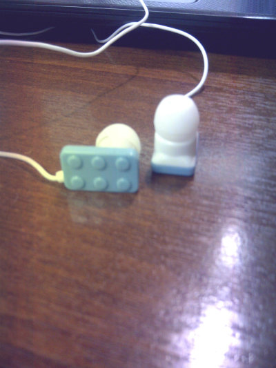 Look what I just bought, Lego Headphones