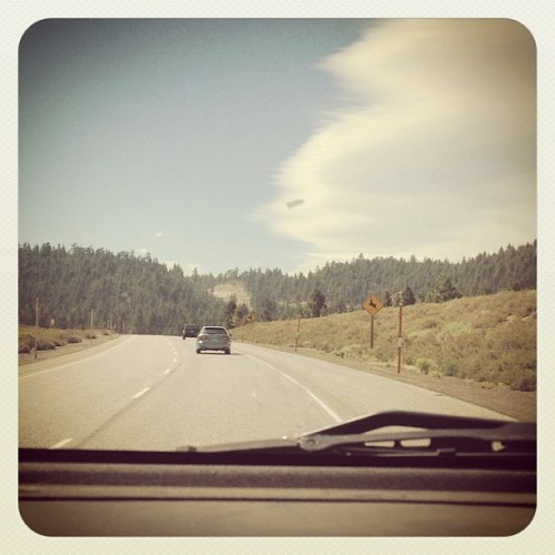 Somewhere near mammoth #roadtrip #summeradventures #crusin  (Taken with Instagram)