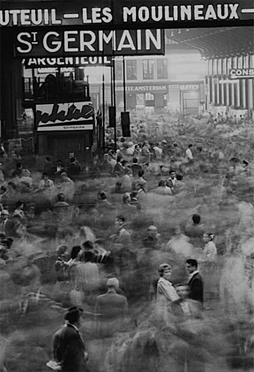 """Gare Saint-Lazare, Paris, 1959"" by Frank Horvat."
