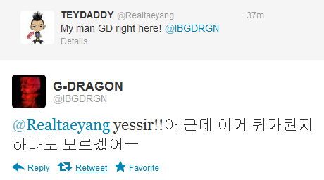 """@Realtaeyang yessir!! ah but I don't know anything about what's what on here"" You're so cute when you're confused by twitter but can write a hit song at the drop of a hat"