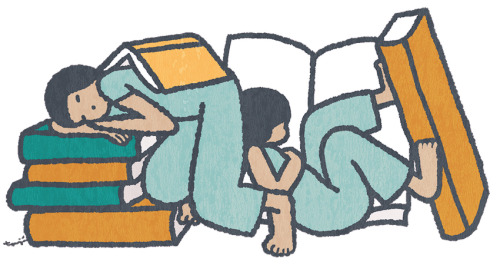 Curl up with a book. Literally. Or with the latest episode of our series BOOKD.