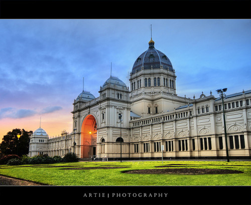 The Royal Exhibition Building, Melbourne (II) :: HDR by Artie | Photography :: No need 2 comment :) on Flickr.