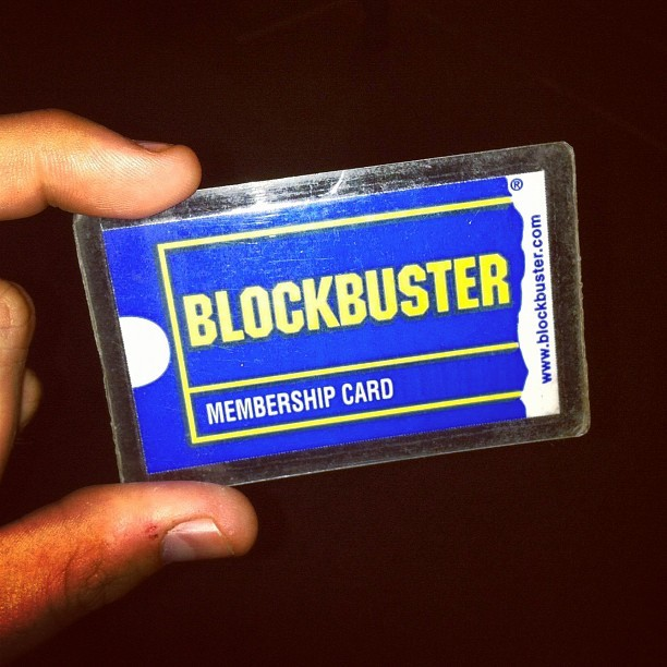 Make it a Blockbuster night. #movies #rental #dead (Taken with Instagram)