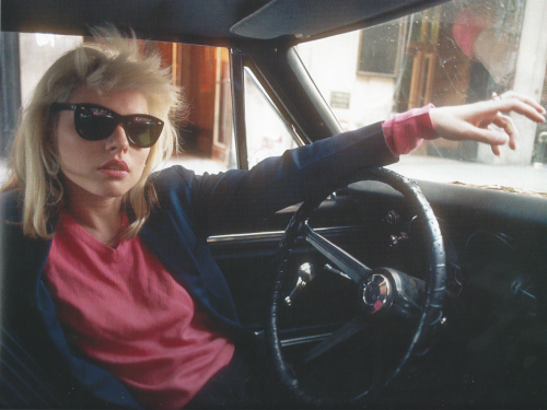 "suckubism:  ""You can't take a bad picture of Debbie Harry"" - Bob Gruen. Debbie Harry, New York City. By Bob Gruen, 1977."