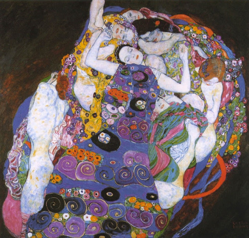 cellbellcell:   Gustav Klimt, The Virgin, 1913.
