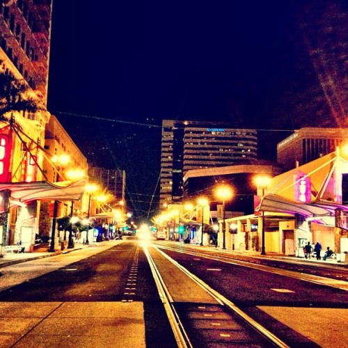 Night Train. (Taken with Instagram)