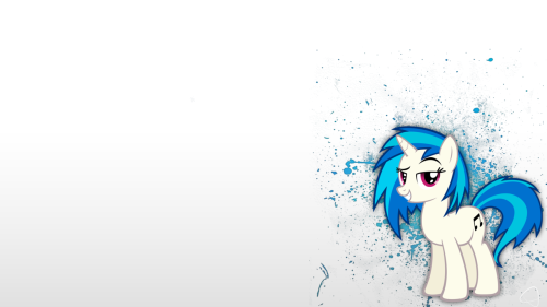 bronychilensis:  Vinyl Scratch Paint Splatter by ~aman692