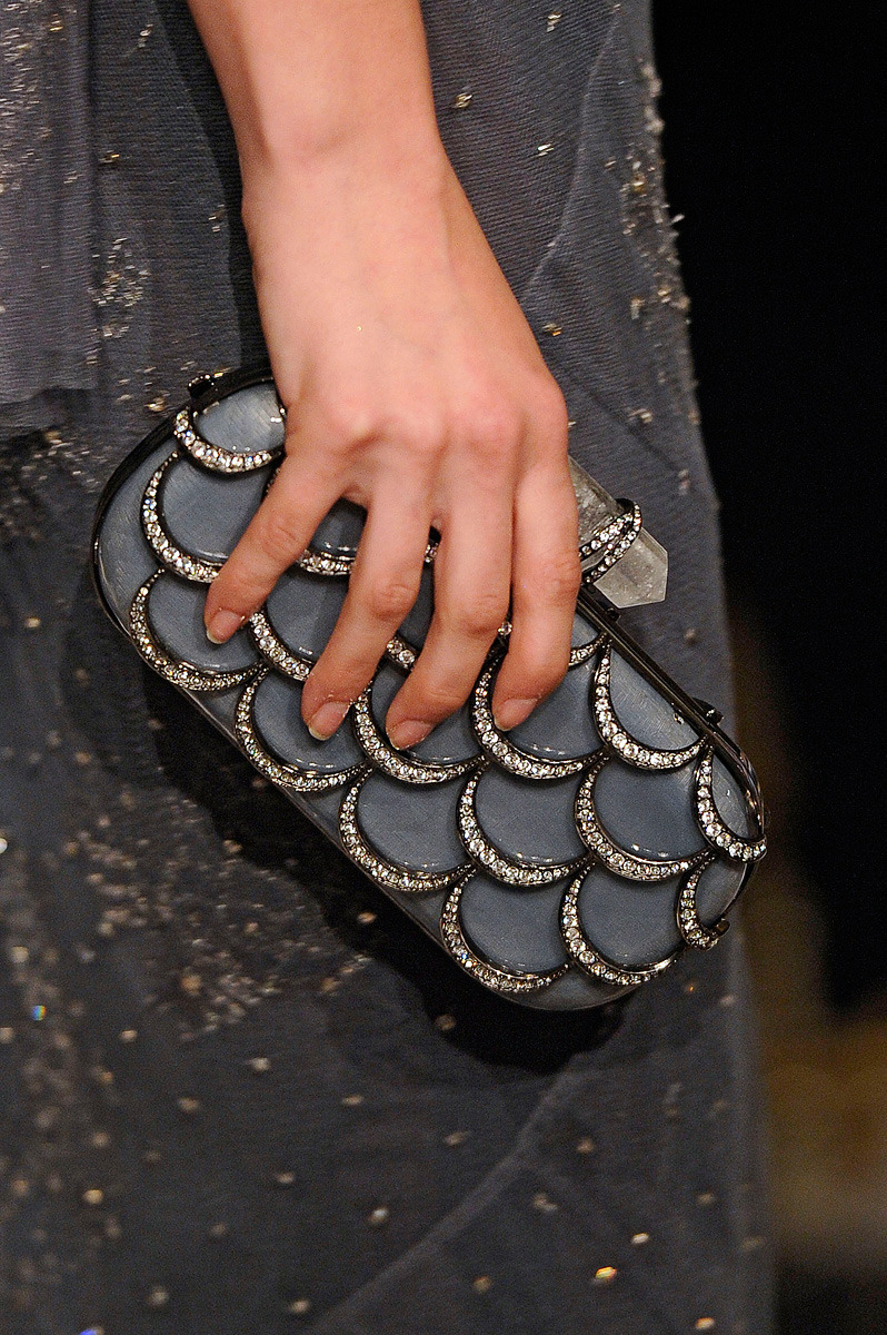 Mermaid clutch <3 (via Marchesa Spring 2012 RTW - Vogue)