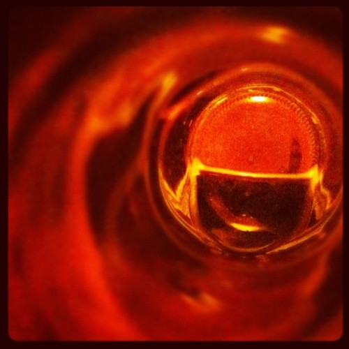 Through the bottom of a bottle (Taken with Instagram)