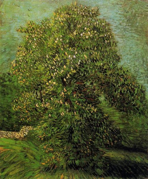 Chestnut Tree in Bloom Artist: Van Gogh