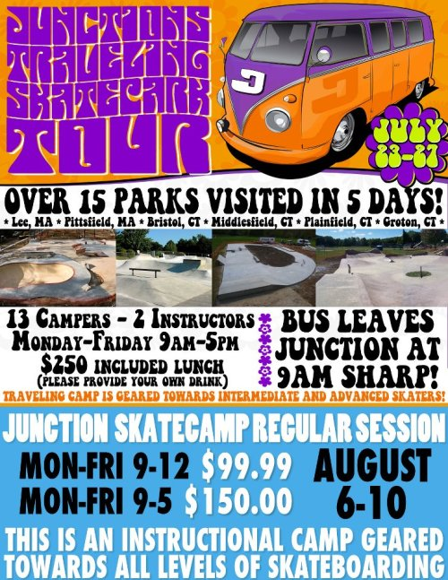 Sign up for skatecamp